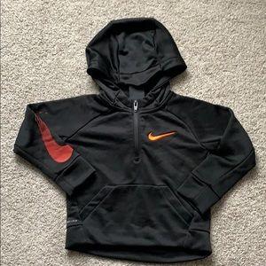 Nike sweat shirt.